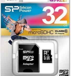 Micro SD 32 Gb 10 klass