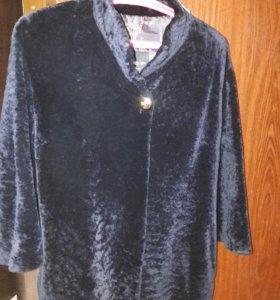 меховая куртка из острагана
