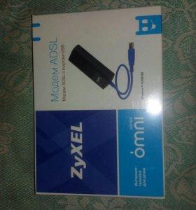 ADSL модем с USB портом Zyxel P-630S EE