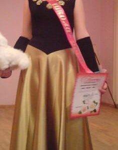 Платье вечернее(карнавальное).