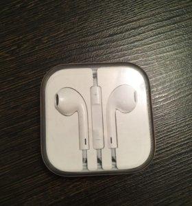Гарнитура наушники для iPhone Apple оригинал