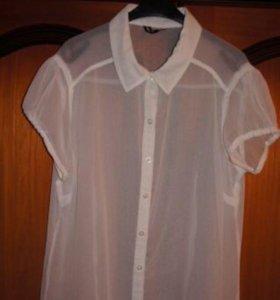 Блузка белая, размер 44