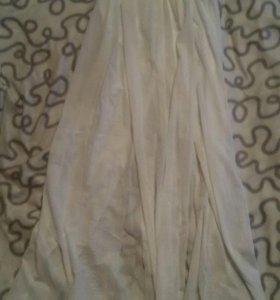 Новая белая юбка