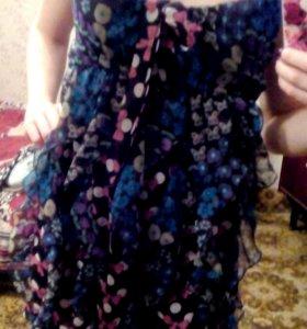 Новое платье шифоновое !!!!!!!!