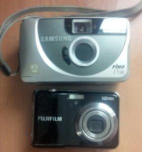 2 фотоаппарата назапчасти