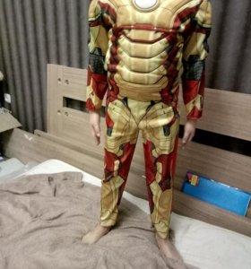 Детский новогодний костюм Железный человек, Marvel