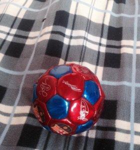 Футбольный мяч барсы