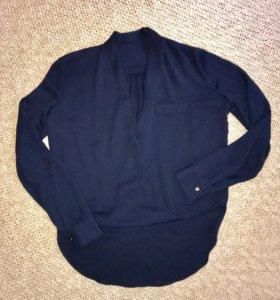 Блузка темно синяя 42-44