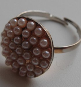 Кольцо под жемчуг