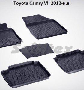 Автоковрики Toyota Camry 7 2012-н.в
