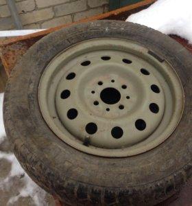 Колесо R14 (зима)Cordiant