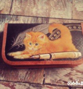 Пенал  с котенком