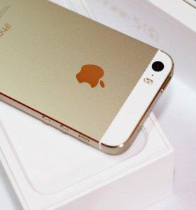 Новый iPhone 5S Gold