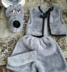 Новогодний костюм волка