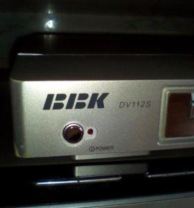 Двд плеер BBK DV112S