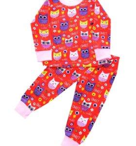 Новые пижамки, размер 4 года.