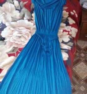 Длинное платье 46-48 р.