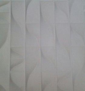 Декоративная плитка и 3D панели
