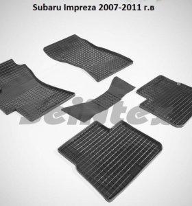 Автомобильные коврики  Субару. Impreza 2007-2011г