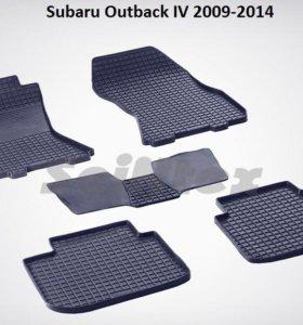 Автоковрики Subaru Outback 4 2009-2014г