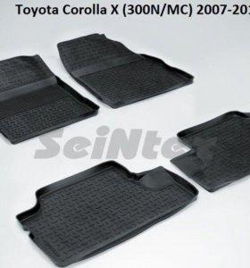 Автоковрики  Toyota Corolla X(300N/MC) 2007-2013г