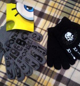 Новые перчатки для мальчика