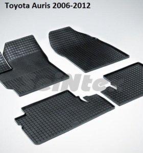 Коврики  Тойота. Auris 2006-2012г