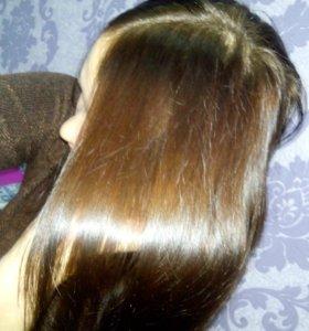 Экранирование волос!