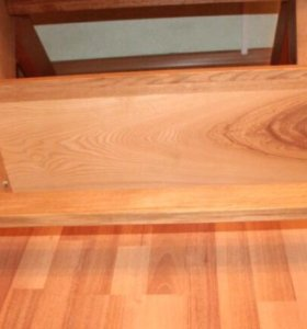 Стол + скамейка из натурального дерева