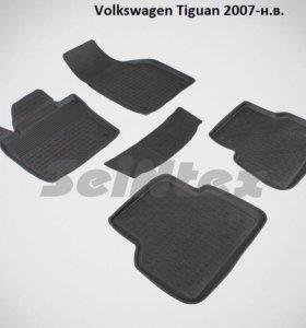 Автоковрики Volkswagen Tiguan 2007- н.в