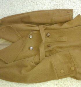 Кашемировое пальто- тренч