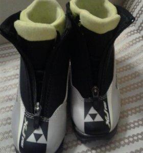 Детские лыжные ботинки Fischer