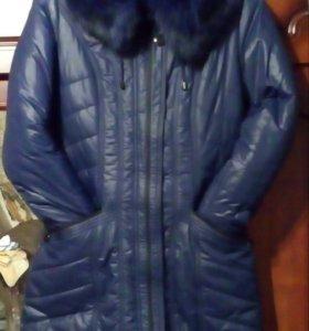 Пальто зимнее 500р.