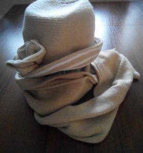 Шапочка и шарф.