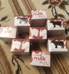Лизун шоколадное молоко