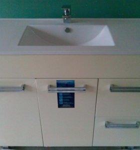 Тумба ТРИТОН- 100 для ванной в заводской пленке