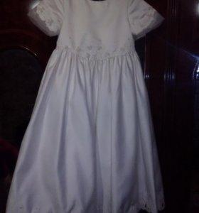 Платье вечерние для девочки размер 110-116 см Торг