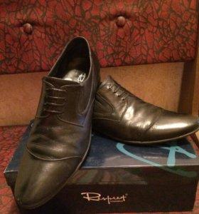 Ботинки кожа 44 размер