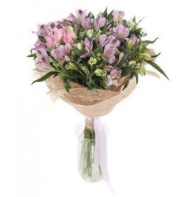 Цветы, альстромерия