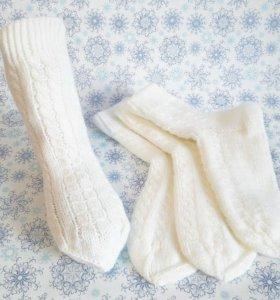 Носочки женские вязаные