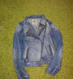 Куртка джинсовая zara.
