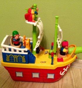 Пиратский корабль kidieland