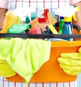 Уборка квартир, домов, офисов.