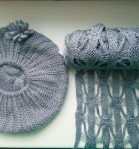 Шапка и шарф (набор)