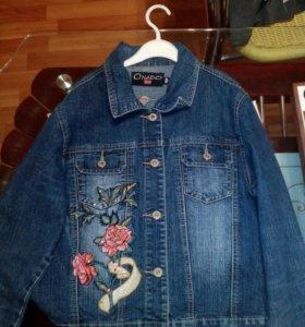 Куртка джинс.