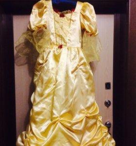 Карнавальный костюм платье бэль