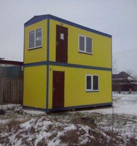 Дом вагончик