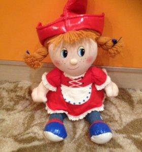 Кукла мягкая Красная шапочка