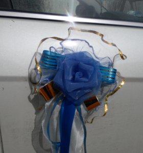 Украшения для свадебного картежа.