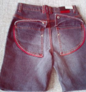 Шорты джинсовые 46 рр женские новые